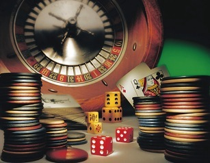 Person with gambling problem
