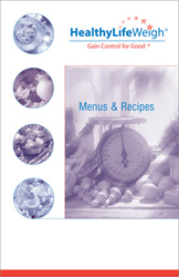 HealthyLife Weigh Menus & Recipes Book