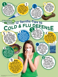 Cold and Flu Defense Poster
