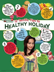 Healthy Holiday Poster