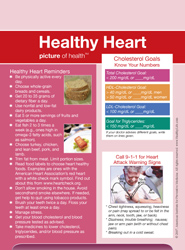 Healthy Heart Picture Frame Magnet