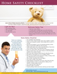 HealthyLife Series: Home Safety Checklist TakeAway™