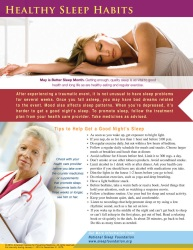 HealthyLife Series: Healthy Sleep Habits TakeAway™